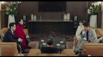 [愛の不時着] 第3話 会議するセリの家族