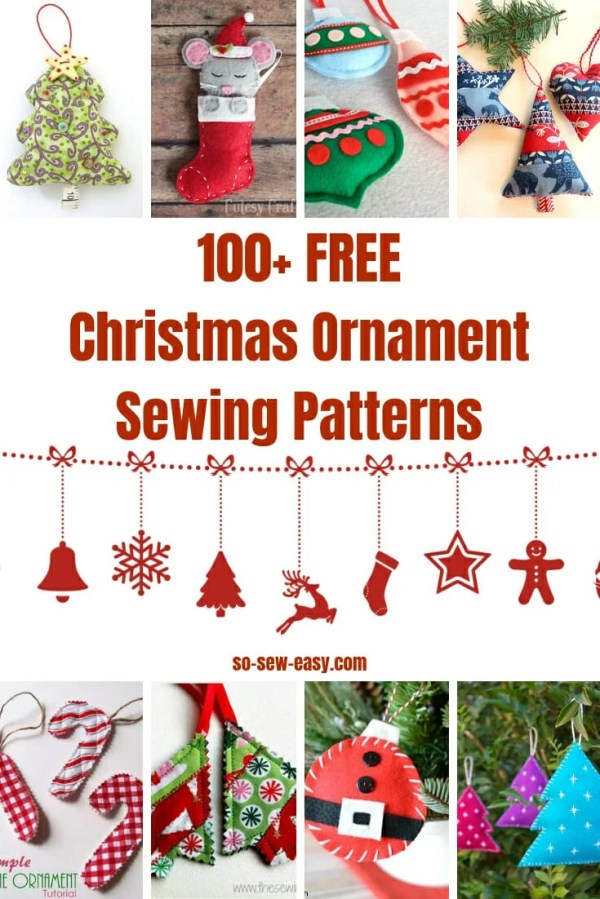 christmas ornaments sewing # 4