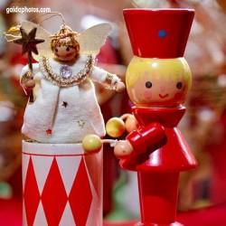 Engel, Trommler, Weihnachten