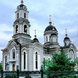 Gebäude, Architektur, Donetsk, Ukraine, Kirche