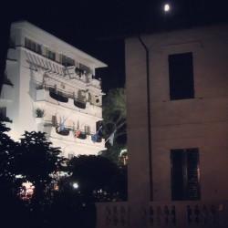 Riccione Abissinia bei Nacht