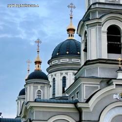 Kirche, Gebäude, Architektur, orthodox, Ukraine, Russland