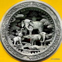 China, Buddhismus, Elefant
