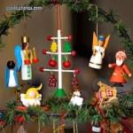 Weihnachtsdekoration aus dem Erzgebirge