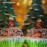 Weihnachtsdekoration: Muffin