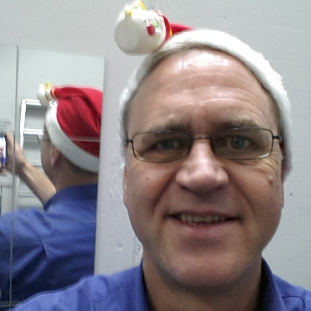 gaidaphotos mit Nikolausmütze