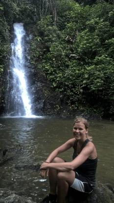 Zweiter Wasserfall - Durian Waterfall