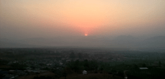 Yun Lai View Point Sonnenaufgang