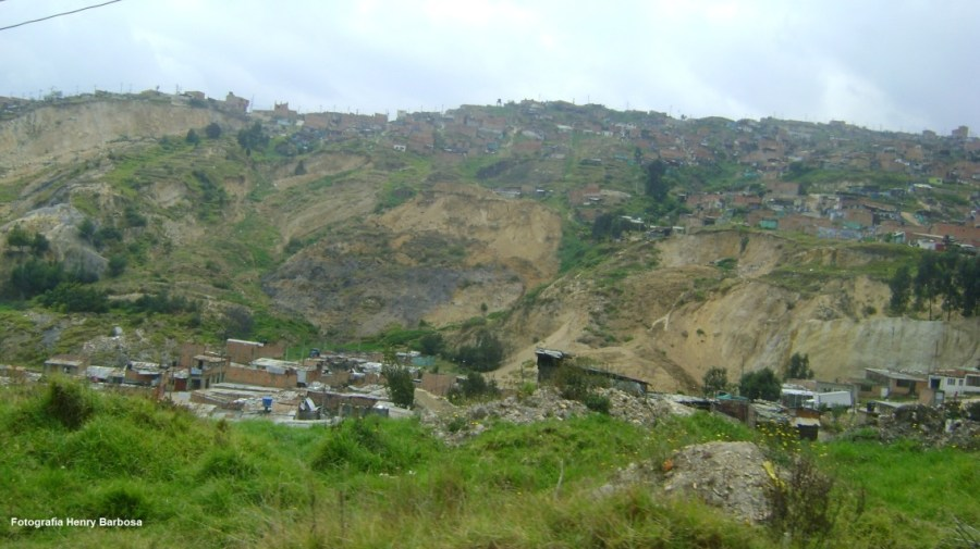 Barrios subnormales y de alto riesgo. Fotografía Henry Barbosa.