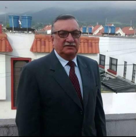 La víctima Luis Carlos Castillo.