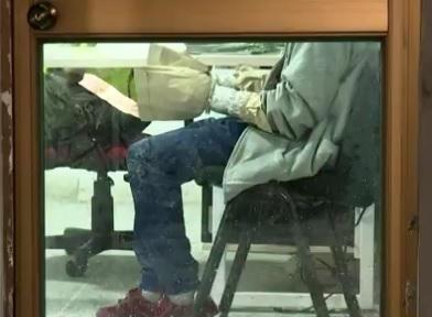 El hombre capturado fue trasladado a la Estación de Policía de Compartir.