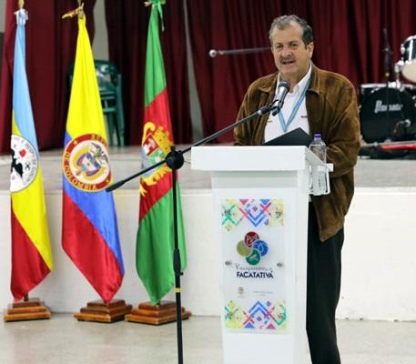 Intervención del alcalde de Facatativá  Pablo Malo García