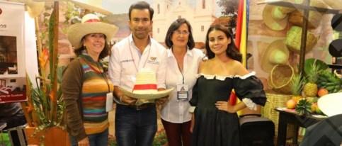El gobernador Jorge Emilio Rey fue el primer animador de Expocundinamrca 2018.