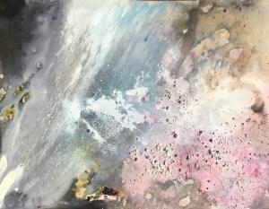 14. Barbara Mink Pink Sky Ink on paper 9