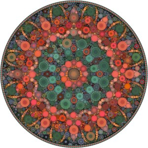 13. Daniel McPheeters Coral Flame Bubble wheel Archival Pigment Ink Print Retail Value $80