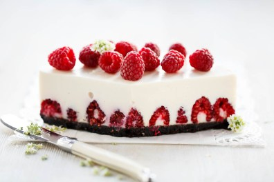 Raspberry cheesecake - August 2015