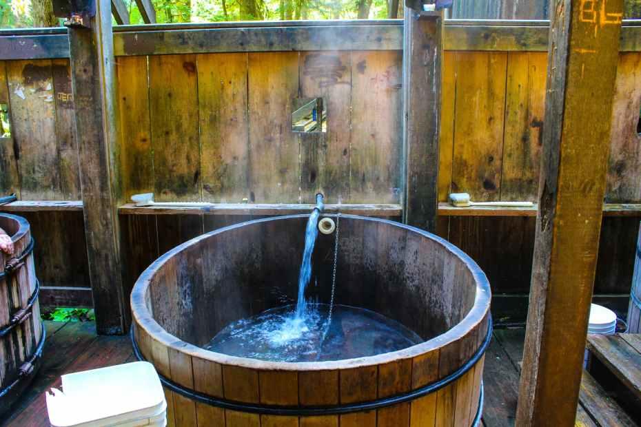 Bagby Hot Springs Tub