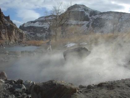 Snively Hot Springs Steam