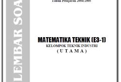 Soal Ujian Nasional SMK 2005