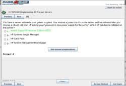 HP Exam HP0-683 Interactive Testing Engine