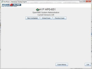 HP Exam HP0-651