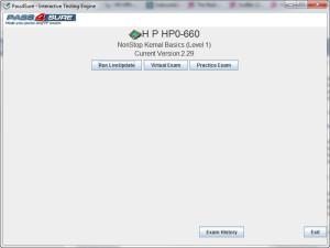 HP0-660 Exam
