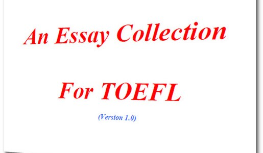 Sample Essays For TOEFL