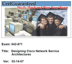 Designing Cisco Network Service Architectures