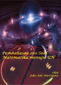 sampul buku 100 soal dan pembahasan matematika UN
