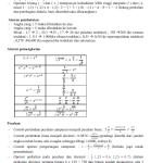 Rangkuman materi Matematika SMP