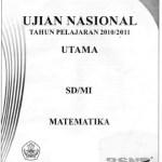 Naskah Soal Ujian Nasional SD Matematika 2011