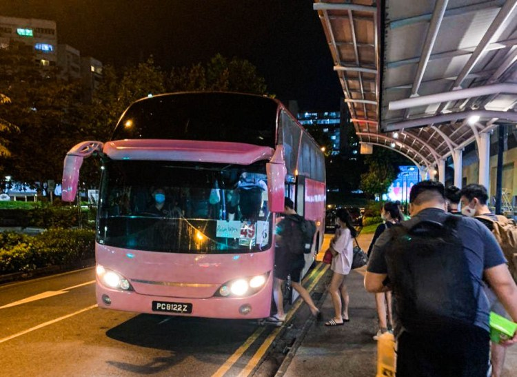 Students launch paid shuttle service to NTU that runs on Sunday nights