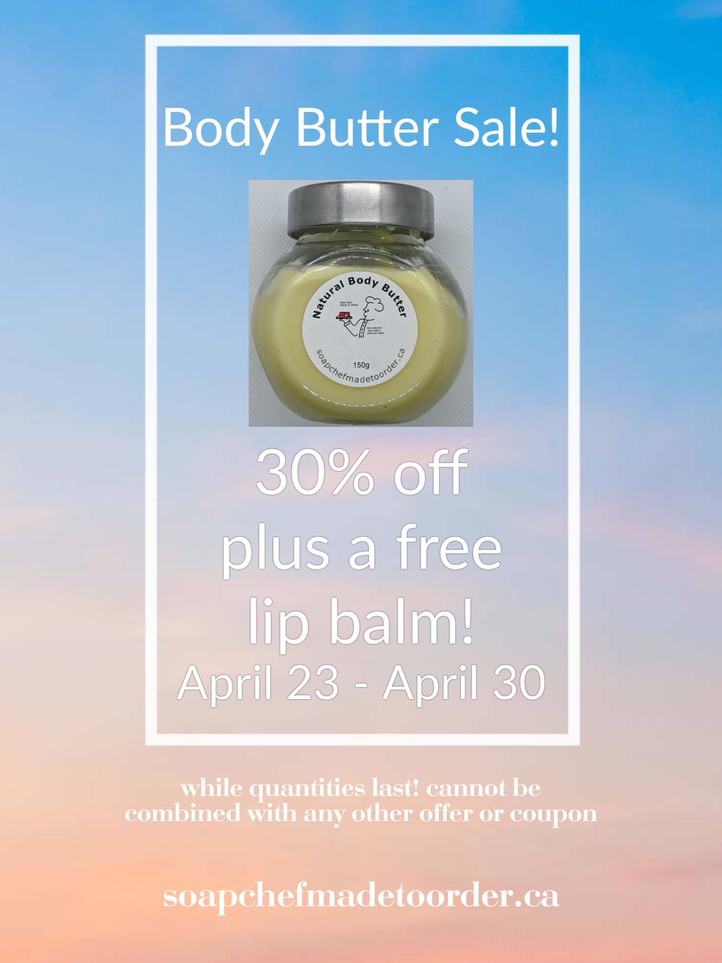 Body Butter Sale!!