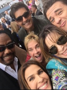 Kassie DePaiva with her Days cast mates