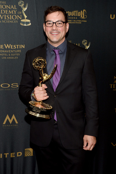 TC with his Daytime Emmy Award