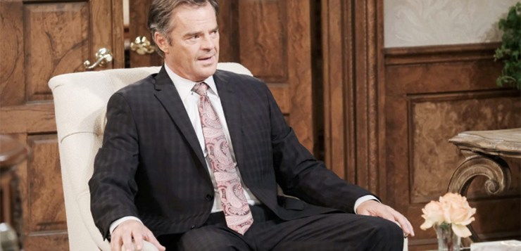 Days of Our Lives Spoilers, Wednesday, October 18th: Justin Delivers Shocking News
