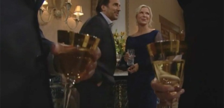 The Bold and the Beautiful Spoilers, Wednesday, November 22nd: Ridge and Brooke Cozy Up