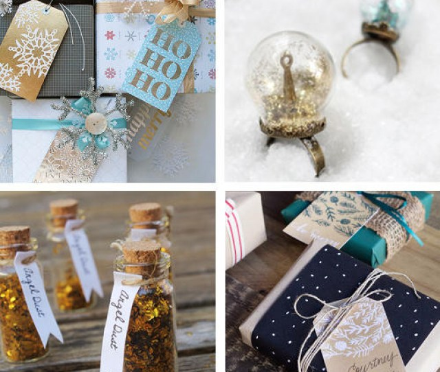 Diy Holiday Craft Projects For Homemade Christmas Gifts And Wrap