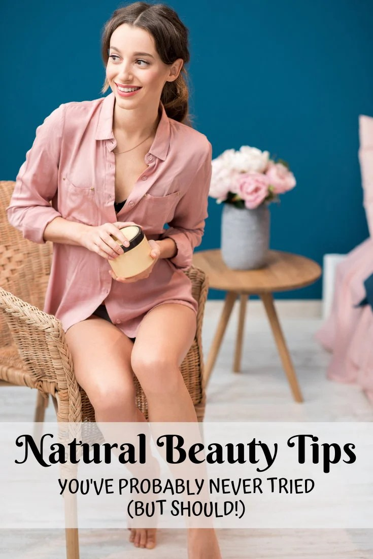 Natural beauty tips for women you've probably never tried, but should! Beauty is more than just the way we look. It's also about who we are. Discover my collection of natural beauty tips that cover not only the physical aspects of ourselves, but also delve into how to be beautiful as we interact with others. You're going to love incorporating these natural beauty tips into you daily natural skin care routine! #skincare #beauty #beautytips #natural