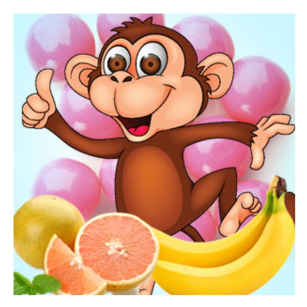 Открытки, картинки веселая обезьянка