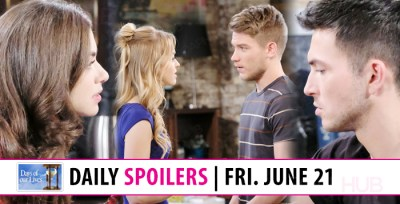 Days Of Our Lives Spoilers - Days Spoilers 3 Weeks Ahead