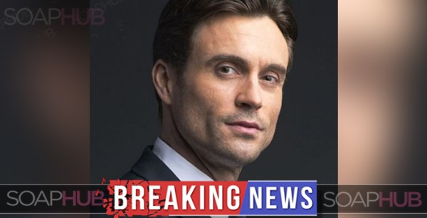 Casting Shocker: Daniel Goddard OUT At Y&R!