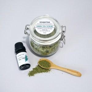 green tea scrubs