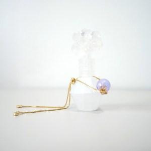 purple essential oil bracelet