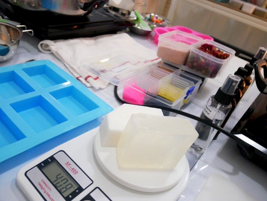 melt and pour soap base