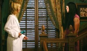 "Eileen Davidson, Chris Engen ""The Young and the Restless"" Set CBS Televison City Los Angeles 4/29/09 ©Aaron Montgomery/jpistudios.com 310-657-9661 Episode # 9161 U.S. Airdate 6/5/09"