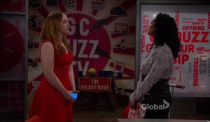 Mariah bumps into Hilary-CBS