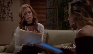 Phyllis and Lauren talk business-CBS