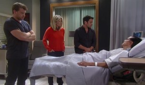 Dante Jason and Carly visit Sonny-GH-ABC