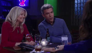 Mac and Felicia have drinks with Finn and Anna-GH-ABC